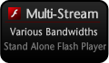 Multi Stream Flash Player!