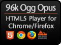96k HTML5 Player!