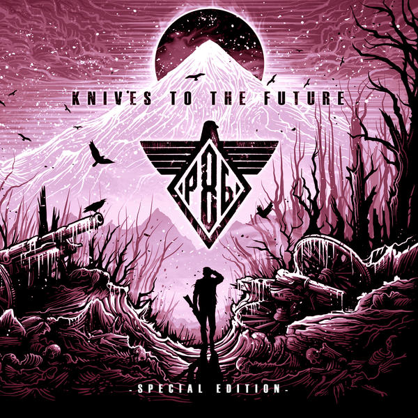Project 86 art Knives To The Future