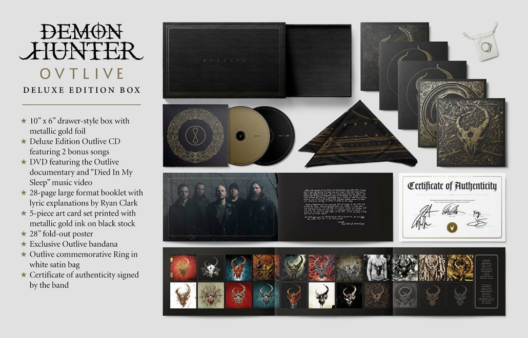 e43ee66e751 Demon Hunter Outlive CD Deluxe Edition…Right Out Of The Gate  Yep!